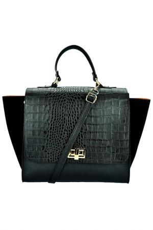 Сумка Pitti bags. Цвет: черный