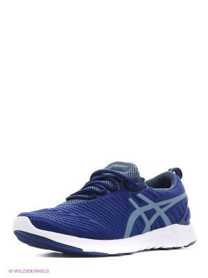 Спортивная обувь NATURAL-80 ASICS. Цвет: черный, синий