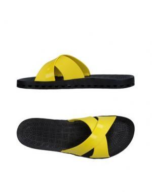 Сандалии SENSI. Цвет: желтый