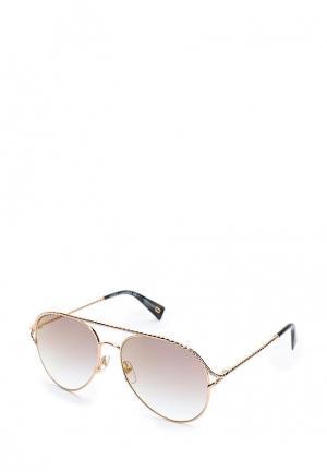 Очки солнцезащитные Marc Jacobs. Цвет: золотой