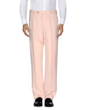 Повседневные брюки G.T.A. MANIFATTURA PANTALONI. Цвет: светло-розовый