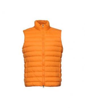 Пуховик GEOX. Цвет: оранжевый