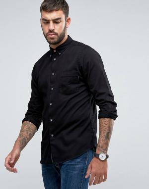 PS by Paul Smith Джинсовая черная рубашка. Цвет: черный