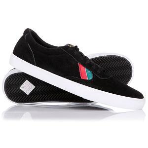 Кеды кроссовки низкие  Gamma Black/Red/Aqua/Green VOX. Цвет: черный