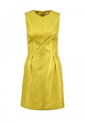 Платье Finery London. Цвет: желтый