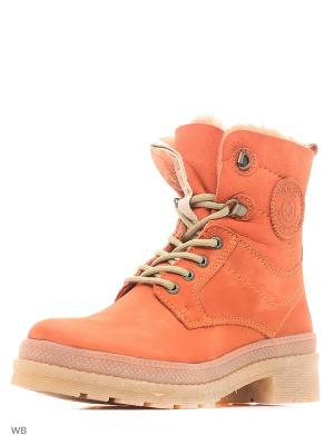 Ботинки GUT. Цвет: оранжевый