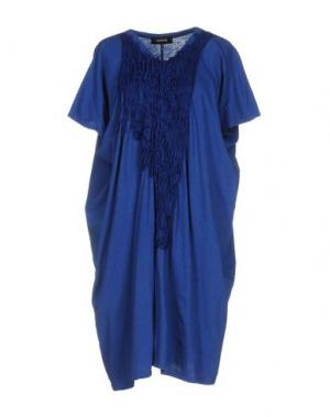 Короткое платье ZUCCA. Цвет: синий