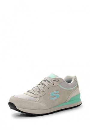 Кроссовки Skechers. Цвет: серый
