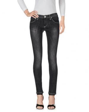 Джинсовые брюки QUEEN of LOVE. Цвет: черный