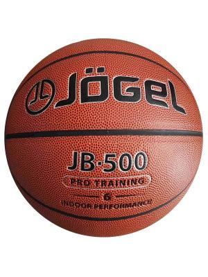 Мяч баскетбольный Jogel JB-500 №6. Цвет: коричневый