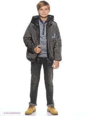 Куртка TOM and JERRY. Цвет: темно-синий