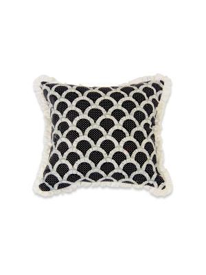 Декоративная подушка Агнес РЮШАЛЬ. Цвет: черный