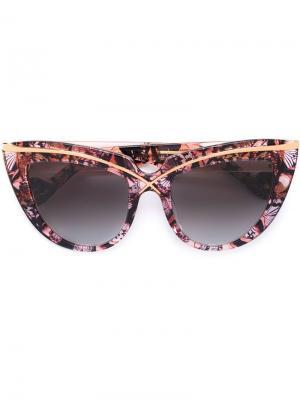 Солнцезащитные очки Lusciousness Anna Karin Karlsson. Цвет: розовый и фиолетовый