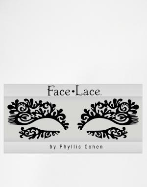 Facelace Украшение для лица ограниченной серии Face Lace Featherette. Цвет: featherette