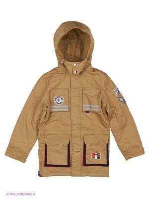 Куртка Fobs. Цвет: бежевый