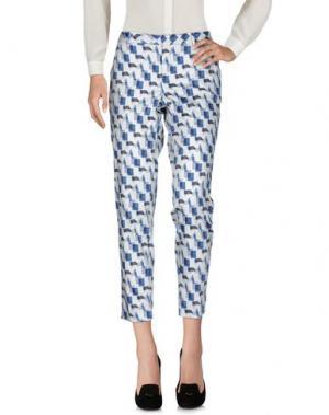 Повседневные брюки PT0W. Цвет: синий