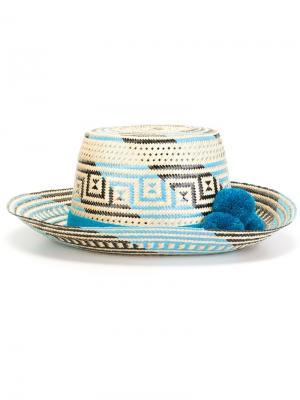 Шляпа Atira Yosuzi. Цвет: белый