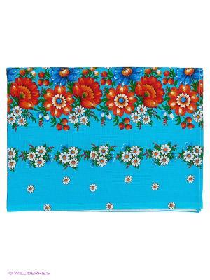 Полотенце банное Метиз. Цвет: голубой