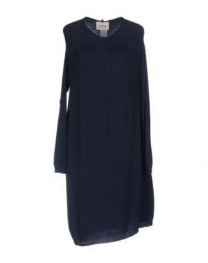 Платье до колена OTTOD'AME. Цвет: синий
