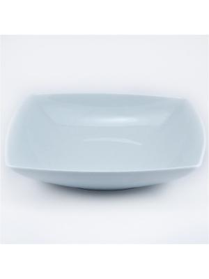 Тарелка суповая/салатник квадратная 20.5 см. Royal Porcelain. Цвет: белый