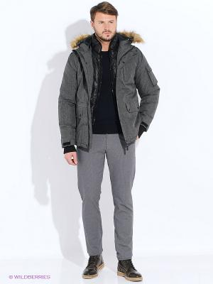 Куртка Top Secret. Цвет: темно-серый