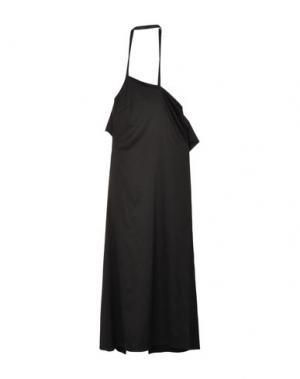 Длинное платье MISS MONEY. Цвет: черный