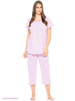 Пижама Vilana. Цвет: розовый