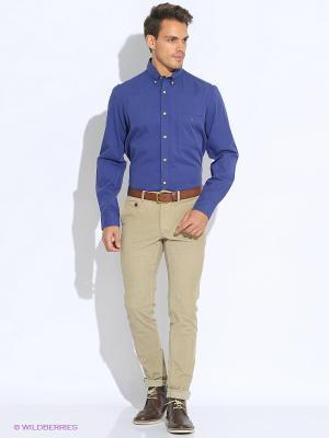 Рубашка Eden Park. Цвет: синий