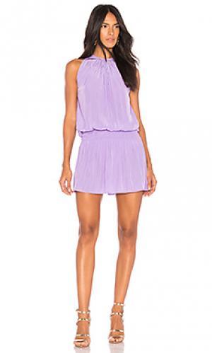 Мини платье paris RAMY BROOK. Цвет: фиолетовый