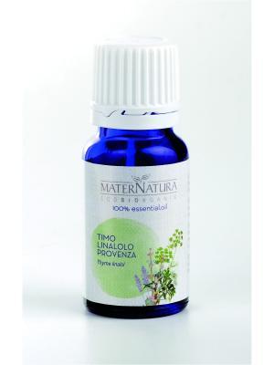 Эфирное Масло Тимьян линалол Thyme linalol Provenza, 10 мл Mater Natura. Цвет: оливковый