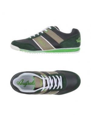 Низкие кеды и кроссовки AUSTRALIAN. Цвет: зеленый