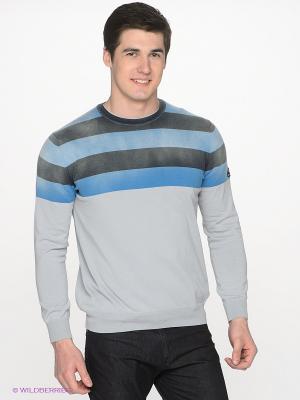 Джемпер Navigare. Цвет: светло-серый, голубой