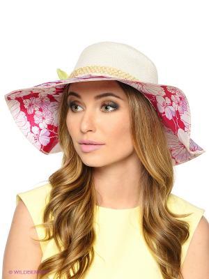 Шляпа FOMAS. Цвет: белый, малиновый