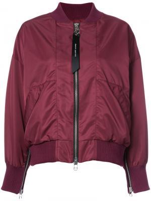 Классическая куртка-бомбер Daniel Patrick. Цвет: красный