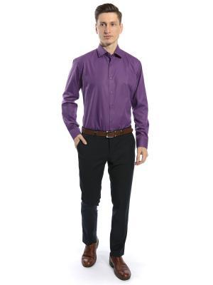 Рубашка GroStyle. Цвет: сиреневый