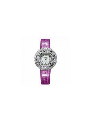 Часы Mikhail Moskvin. Цвет: серебристый, фиолетовый