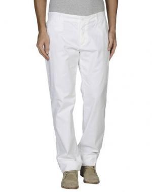 Повседневные брюки EN AVANCE. Цвет: белый