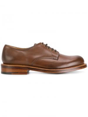 Ботинки Дерби Dermot Grenson. Цвет: коричневый