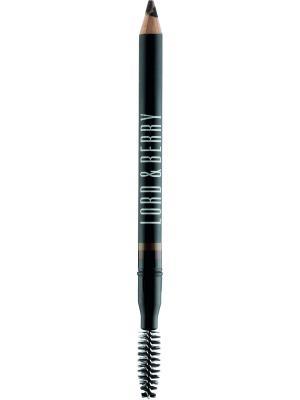 Карандаш для бровей Magic Brow, оттенок 1706 нейтральный Lord&Berry. Цвет: темно-коричневый