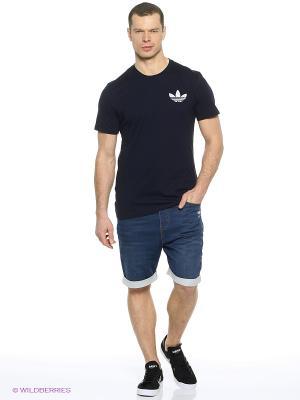 Шорты Ftd Shorts Adidas. Цвет: темно-синий