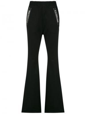Flared trousers À La Garçonne. Цвет: чёрный