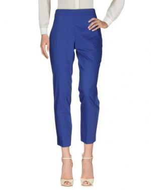 Повседневные брюки DOMINA. Цвет: синий