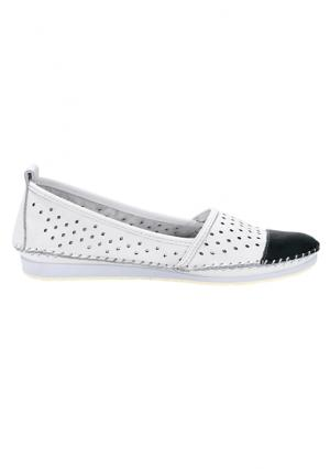 Туфли Andrea Conti. Цвет: белый/черный