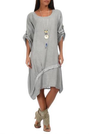 Платье Couleur lin. Цвет: gray
