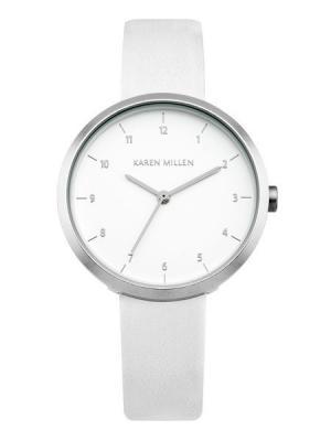 Часы KAREN MILLEN. Цвет: белый