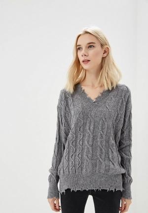 Пуловер P Jean. Цвет: серый