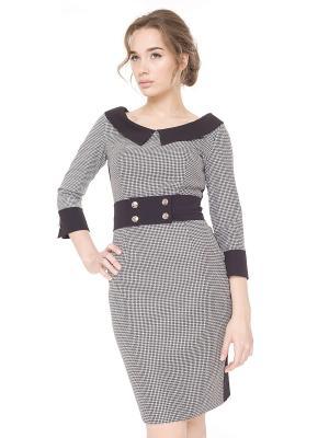 Платье Arefeva. Цвет: черный