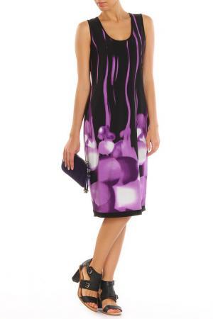 Платье GOLD. Цвет: фиолетовый