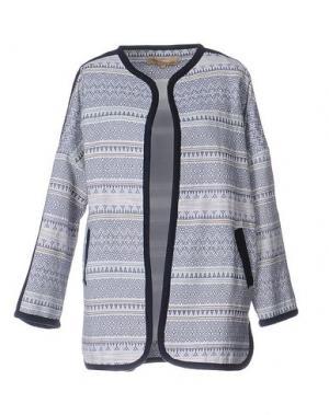 Легкое пальто BONSUI. Цвет: темно-синий