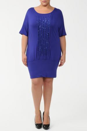 Платье HEY. Цвет: синий